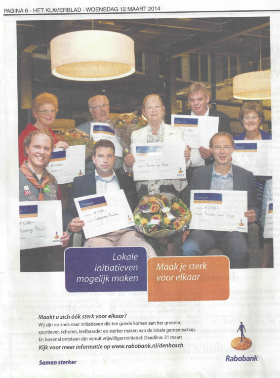 PWvO in het Klaverblad